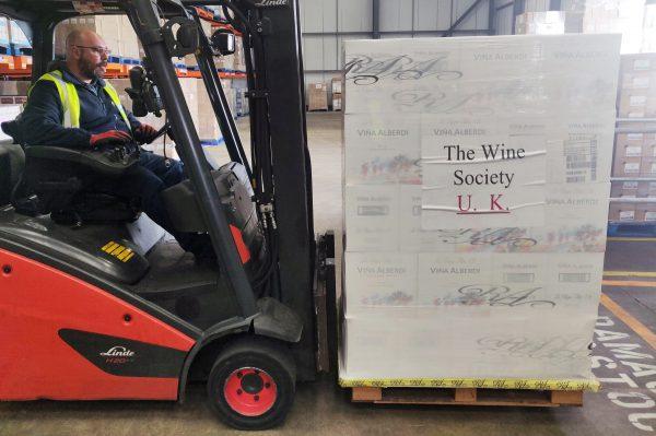 Johnston Logistics UK Support The Wine Society Through Warehouse Lockdown