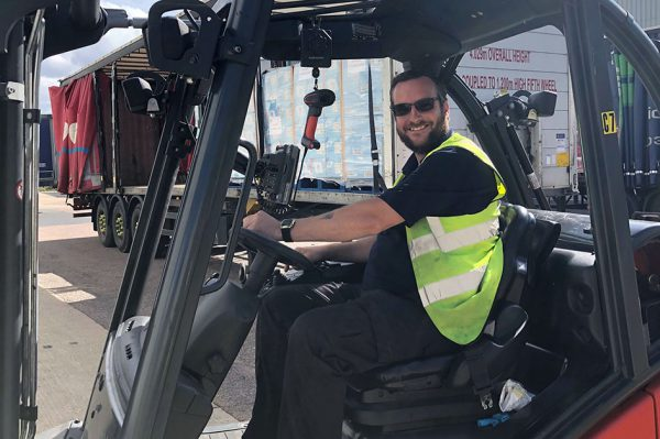 Johnston Logistic UK's Marc Reaches Forklift Operator of the Year Final