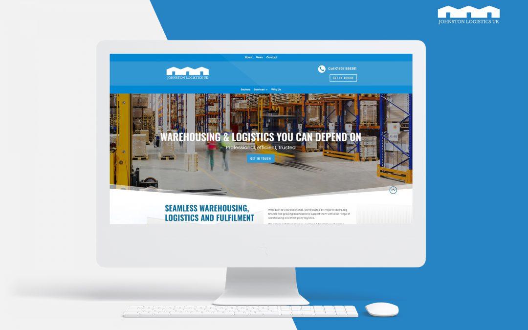 Johnston Logistics UK's New Website Helps Frame Ambitions for Next Era