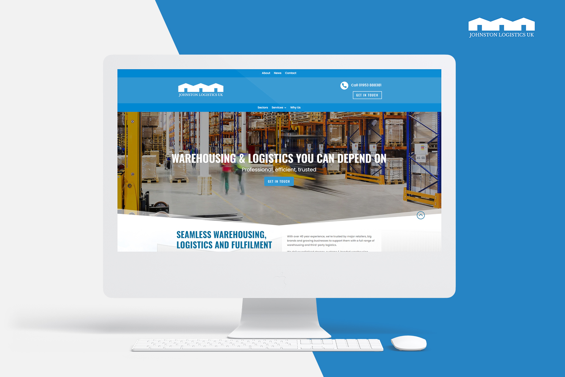 Johnston Logistics UK's New Website Helps Frame Ambitions for Next Era