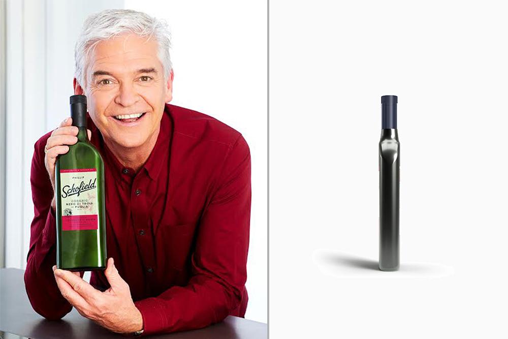 Johnston Logistics UK Help Clients Distribute Phillip Schofield Wine in Innovative New Bottle