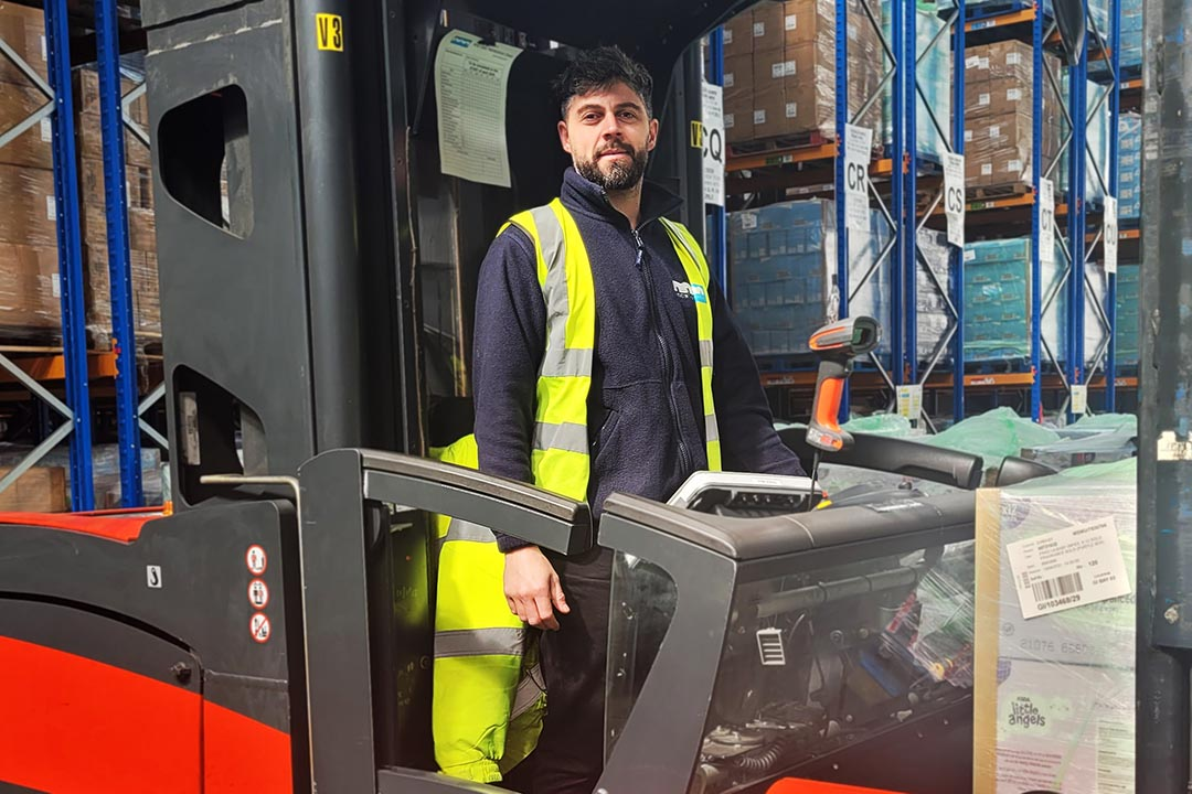Staff Development Remains Paramount at Johnston Logistics UK as Rui Achieves VNA Certificate